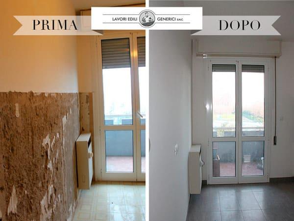 Tinteggiatura bologna castenaso imbiancare pitturare dipingere casa pareti interne colorate - Decorazioni pareti interne casa ...