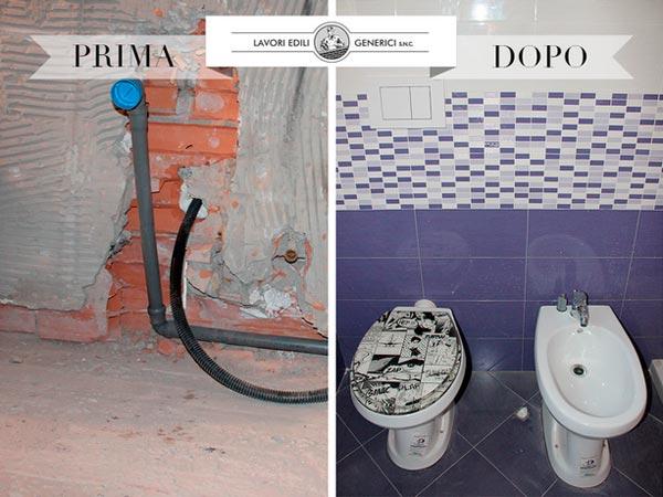 Impianto idraulico casa bologna san lazzaro di savena - Rifare il bagno di casa ...